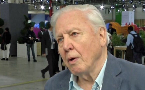 Attenborough urges renewable