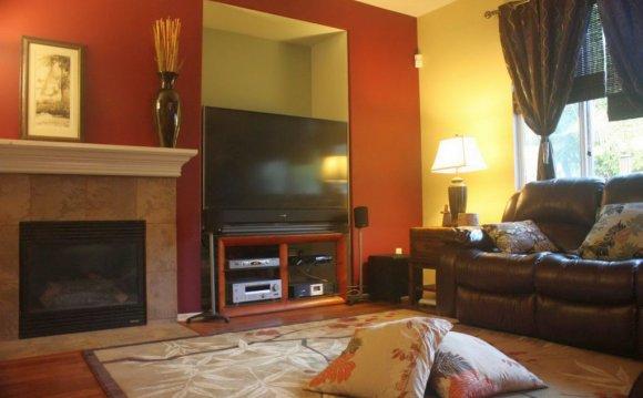 Ideas with large plasma TV