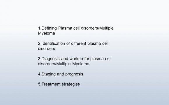Defining Plasma cell