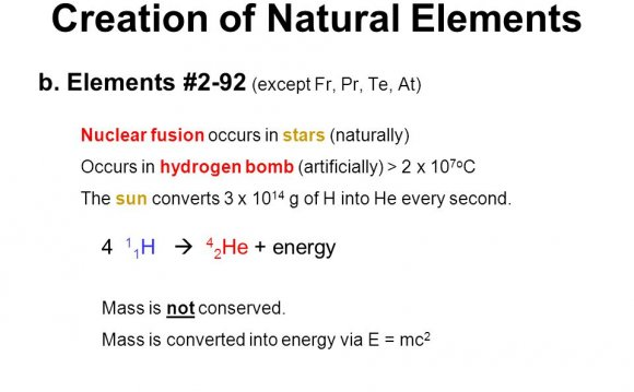 At) Nuclear fusion occurs