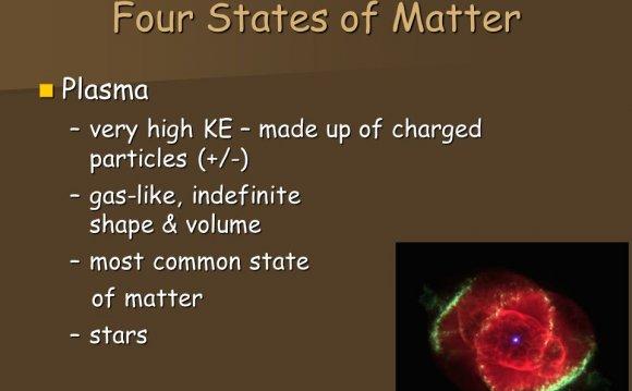Four States of Matter Plasma