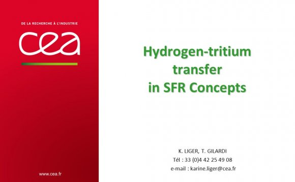 Hydrogen-tritium transfer in