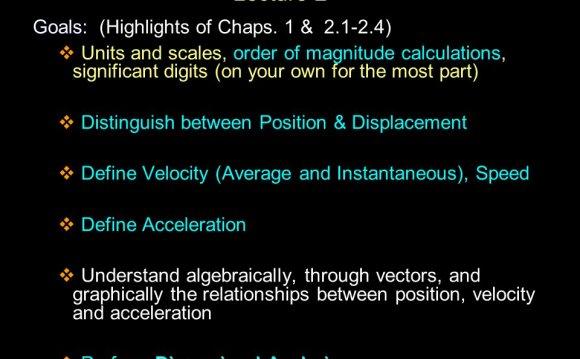 Order of magnitude