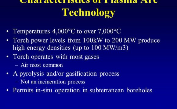 Characteristics of Plasma Arc