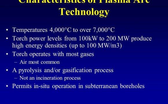 Characteristics of Plasma Arc