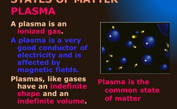 STATES OF MATTER PLASMA A