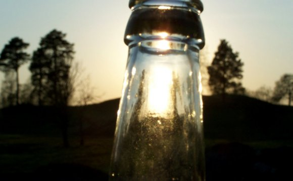 Sun in a bottle by