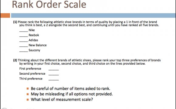 Scale order