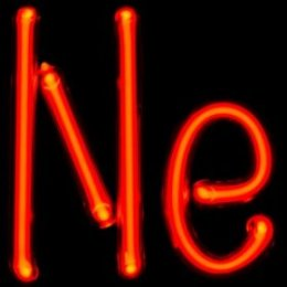 Plasma glow typical of Neon via Wikimedia