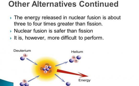 Energy released in nuclear fusion