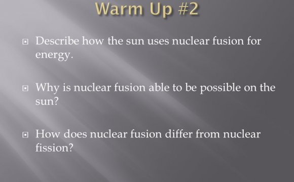Nuclear fusion for energy