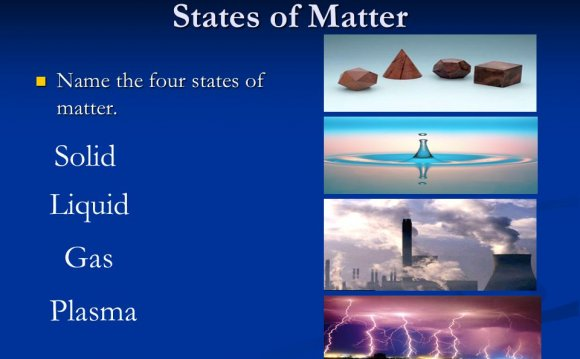 Four states of matter