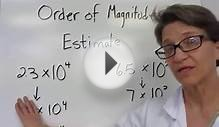 1-3 Order of Magnitude