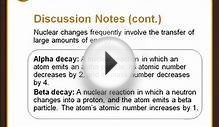 Chemistry Nuclear Reactions