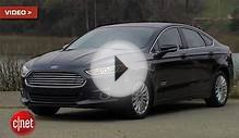 CNET Rates Ford Fusion Energi Plug-In Hybrid Sedan