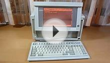 Compaq Portable - machine with gas plasma display