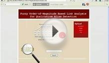 Fuzzy Order-Of-Magnitude Based Link Analysis For