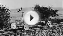 German scientists test experiments with a Rocket Speed Car