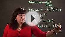 How to Calculate the Ionization Energy of Atoms