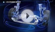 Intelligent Hybrid Car Technology Ford Fusion Sport Future