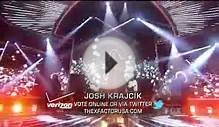 Josh Krajcik - The Pretender - The X Factor USA (Top 10
