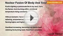 Louise Tredoux - Nuclear Fusion Of Body And Soul
