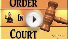 Order In The Court - Math Song - Order of Operations