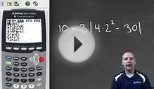 Order of Operations on Calculator