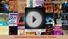 Read Controlled Thermonuclear Fusion Ebook Free