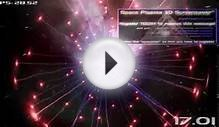 Space Plasma 3D Screensaver Preview with music, Demo
