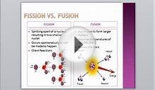 Unit 4 Elements of Life Half Life Fission Fusion