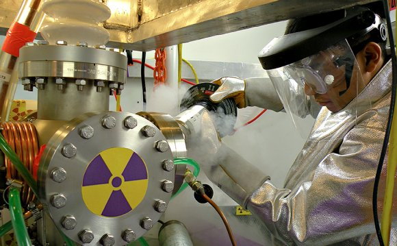 Nuclear reactor in Garage